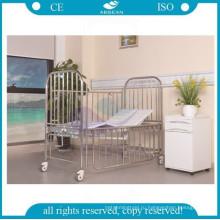 АГ-CB014 две функции высокого стандарта структура нержавеющей стали детская кроватка
