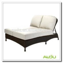 Audu Double Handmade Sunbed Outdoor Lounge Bett