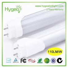 CE RoHS 8ft levou luz do tubo 18W levou levou preço tubo levou luz T8 LED tubo de iluminação
