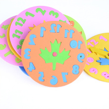 Kids Learning Time Educational EVA Clock Toys