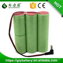 Ni-CD 4000mAh D 6V bateria recarregável para pesador eletrônico