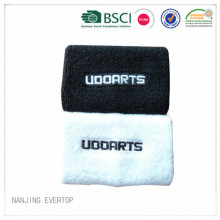 Men Embroidery Cotton Sport Wristband