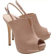 ladies fancy double platform heels shoes