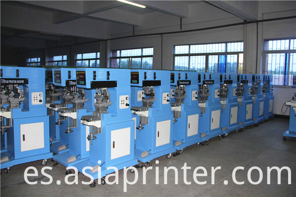 large size one color pad printing machine