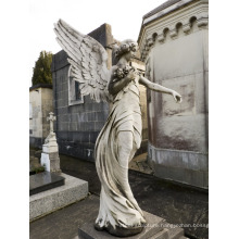2018 Popular Design cemetery Angel Statues with Great Price