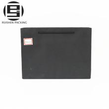 Nach Maß Hochzeitsgeschenk schwarze Papiereinkaufstaschen
