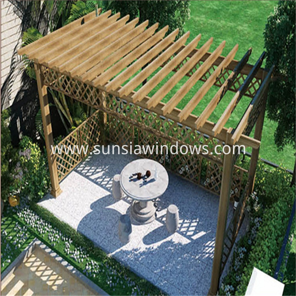 Aluminum Grape Trellis Shelf