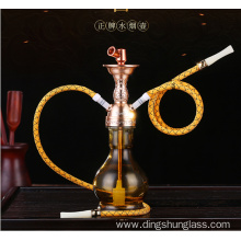 Wine pot type all glass hookah