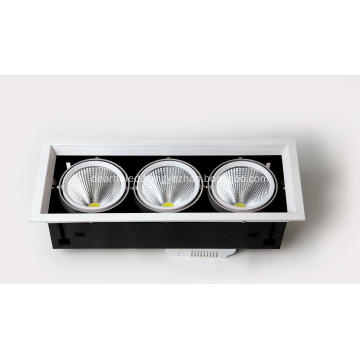 65W 3800-4200lm hole size 465*165mm 3000-6000k AC90-265V LED Bean container lamp professinal led light