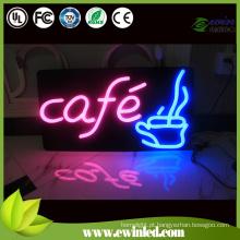 Sinais de néon do diodo emissor de luz de Blacklight para decoram dos edifícios