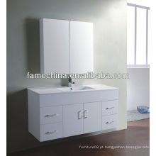 Móveis de banheiro MDF novo Móveis de banheiro de lavatório de bacia de vidro
