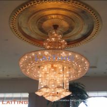 Contemporary pendant light hotel modern Italian crystal chandelier