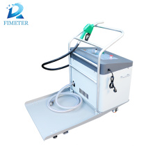 Mobile portable engine lubricating oil labeling machine oil filler