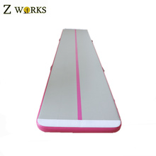 Customized color PVC material inflatable air track gymnastics