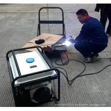 Бензиновый 5кВА сварочный генератор высокого качества с сертификатом CE для продажи в Китае