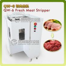 Tiras de carne fresca industrial y cortadora de rebanada
