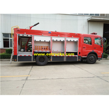 7000 Litros 210HP Combined Fire Fighting Trucks