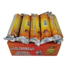 hookah good quality quick light al fakher charcoal 33mm