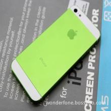 Original Design Plating Housing Back Cover -Green for iPhone 5