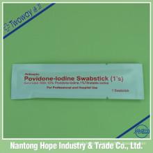 single package Povidone Iodine Swabstick