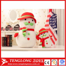 high quantity cute plush toys Christmas toys snowman toys