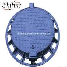 Manufacturer Sand Casting Ductile Cast Iron Manhole Cover