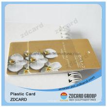 Imprimir tarjeta de inyección de tinta de plástico para la tarjeta de identificación del empleado