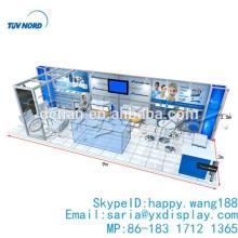 Exhibición de la cabina del telón de fondo 3x9 o 10x30 pies para la demostración comercial