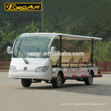 14 Seat Electric Sightseeing Bus KDS 72V 7.5KW Electric Tour Bus