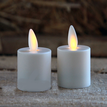 moving wick led tea light candles
