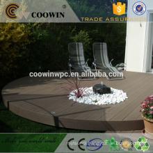 rubber wood plastic composite grey flooring