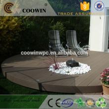 Резиновый деревянный пластик композитный серый пол