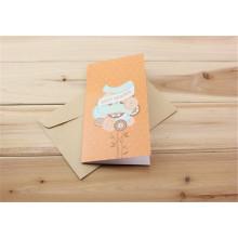 Tarjeta de felicitación de lujo Paper Paper Greeting Printing