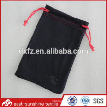 Pochette en lunette en microfibres imprimée en relief, sac à lunette, sacs en microfibres