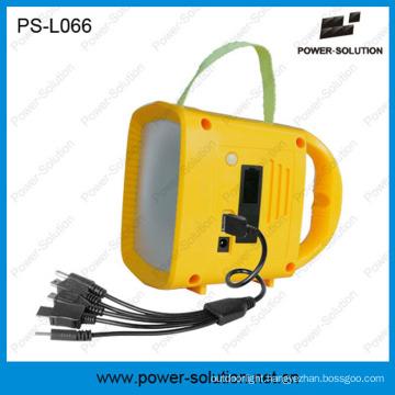 Portable Nigh Light Solar Panel Powered Solar Lighting with MP3