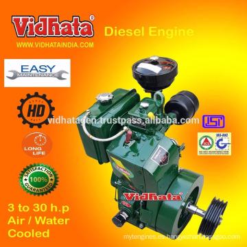 Motor Diesel India 10 HP De trabajo pesado