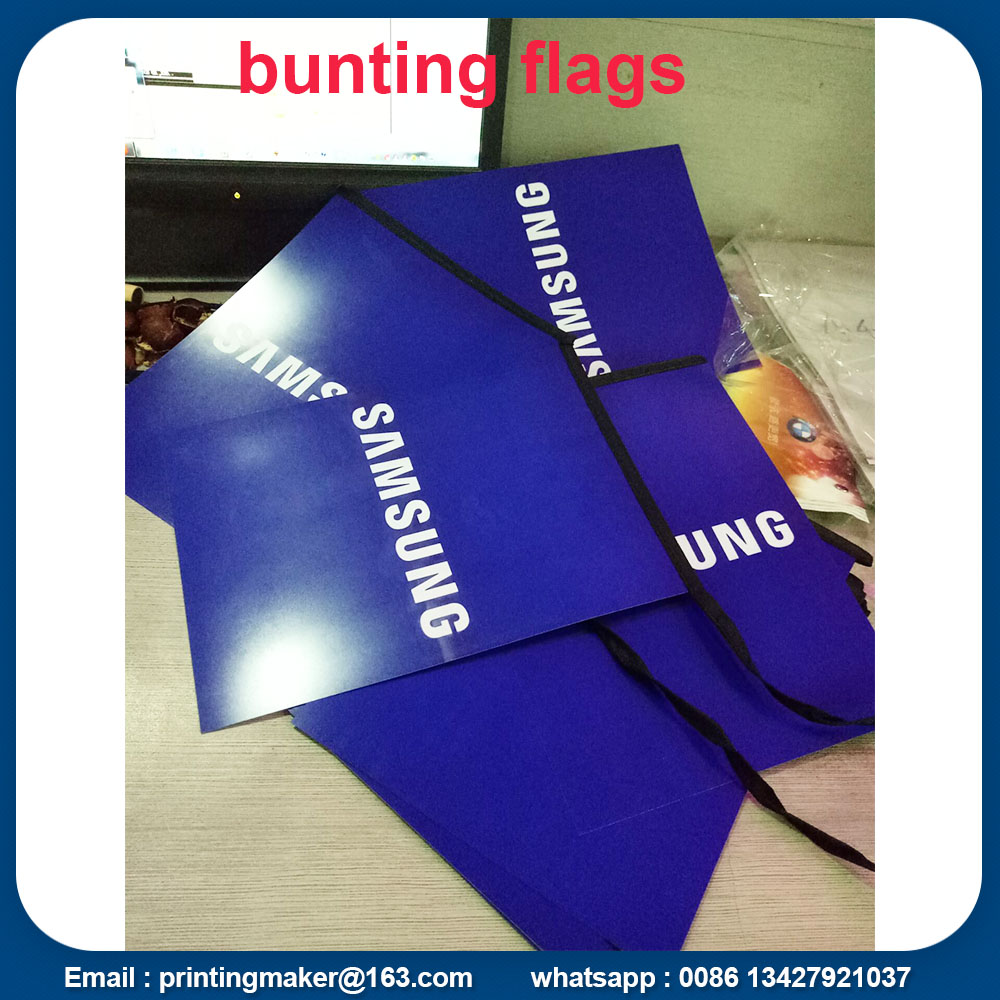 pvc bunting flags