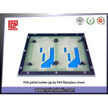 Vorheriges Plastikglas Fiberglas Fr4 für Wellen-Lötmittel-Palette