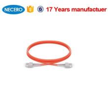 NECERO SC-SC Dúplex multimodo 62.5 / 125 2.0 mm UPC Tipo de pulido Cordón de remiendo de 3 m