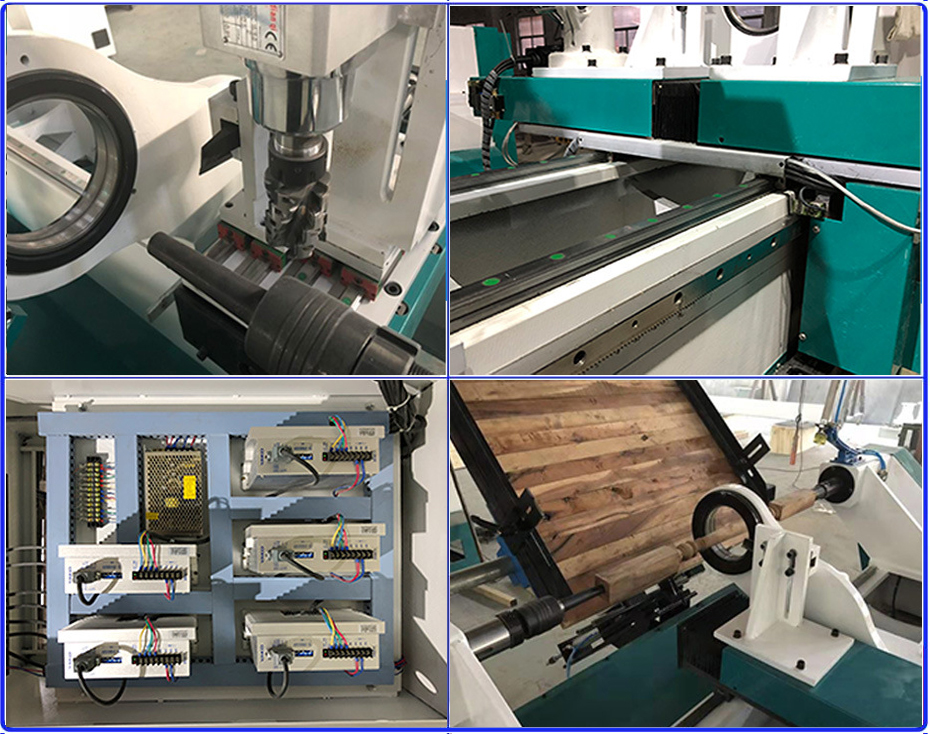 cnc lathe machine for wood