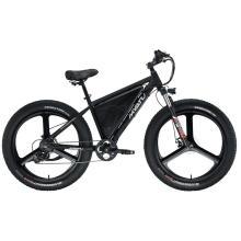 Bicicleta trituradora de nieve de playa de bicicleta eléctrica