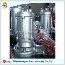 Pompe de déshydratation à mine à ciel ouvert submersible résistante à l'usure centrifuge
