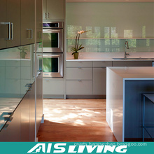 Economical UV Kitchen Cabinets Furniture for Project (AIS-K350)