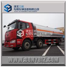 25cbm chinesischer FAW-Kraftstoff-Behälter-LKW-heißer Verkauf