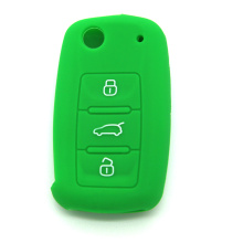 Conjunto de capa de silicone VW Car Key Cover