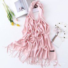 Hot Selling Plain Color Cashmere Scarf for Winter wholesale scarf hijab