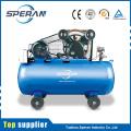 Factory best price mobile 5.5hp 2 cylinder belt driven piston air compressor 200l