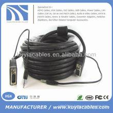 10FT SVGA VGA con 3.5mm audio varón a varón Cable para el proyector de la PC