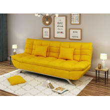 SOFA BED YELLOW COLOR