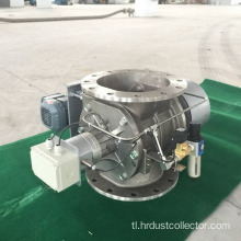 Adjustable speed rotary airlock valve para sa silo unloader